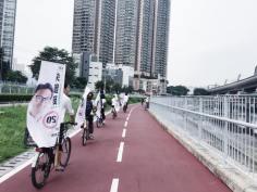 單車不止是休閒娛樂,而是交通工具。