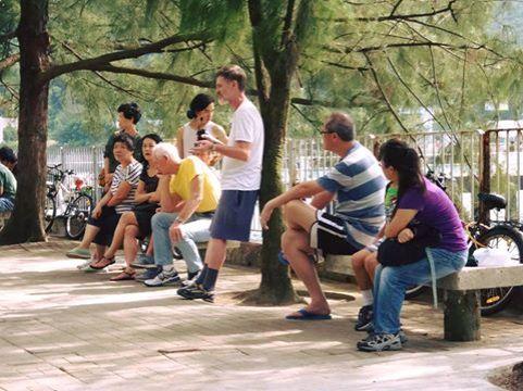 南丫島街頭會議